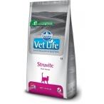 Корм Farmina Vet Life Struvite для кошек при МКБ струвитного типа, 2 кг