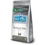 Корм Farmina Vet Life Neutered MALE для кастрированных КОТОВ, 2 кг