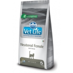 Корм Farmina Vet Life Neutered FEMALE для стерилизованных КОШЕК, 2 кг