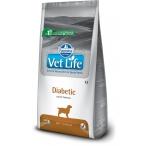 Корм Farmina Vet Life Diabetic для собак при диабете, 12 кг