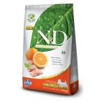 Корм Farmina N&D PRIME Fish & Orange Adult Mini беззерновой для взрослых собак мелких пород рыба с апельсином, 2,5 кг