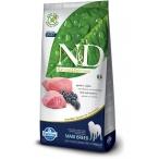 Корм Farmina N&D Lamb & Blueberry Adult Maxi беззерновой для взрослых собак крупных пород ягненок с черникой, 12 кг