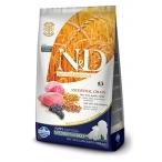 Корм Farmina N&D (Low Grain) Lamb & Blueberry Puppy Medium/Maxi для щенков средних и крупных пород с низким содержанием зерна, ягненок с черникой, 12 кг
