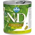 Корм Farmina N&D Prime Boar & Apple (консерв.) для собак, кабан с яблоком, 140 г