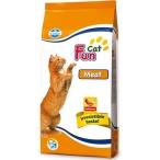 Корм Farmina Fun Cat Meat для взрослых кошек с мясом, 20 кг