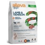 Корм Alleva Holistic Cat Adult Lamb & Venison для кошек, ягненок, оленина, конопля и женьшень, 1.5 кг