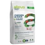 Корм Alleva Holistic Puppy Mini Chicken & Duck для щенков малых пород, беременных и кормящих сук, курица, утка, алоэ вера и женьшень, 800 г