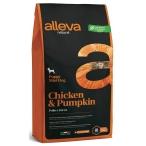 Корм Alleva Natural Puppy Mini Chicken & Pumpkin для щенков малых пород, беременных и кормящих сук, курица и тыква, 2 кг