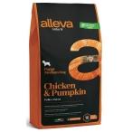 Корм Alleva Natural Puppy Medium Chicken & Pumpkin для щенков средних пород, беременных и кормящих сук, курица и тыква, 800 г