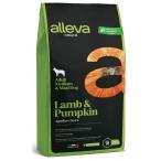 Корм Alleva Natural Adult Medium & Maxi Lamb & Pumpkin для собак средних и крупных пород, ягненок и тыква, 2 кг