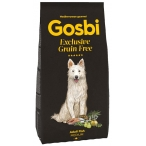 Корм Gosbi Grain Free Adult Fish Medium для собак средних пород, беззерновой, с рыбой, 12 кг