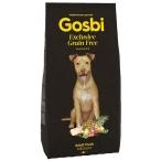 Корм Gosbi Grain Free Adult Duck Medium для собак средних пород, беззерновой, с уткой, 12 кг