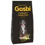 Корм Gosbi Grain Free Junior Fish для щенков средних и крупных пород, беззерновой, с рыбой, 3 кг
