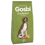 Корм Gosbi Exclusive Lamb Medium для собак средних пород, с ягненком, 3 кг