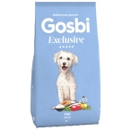 Корм Gosbi Exclusive Fish Mini для собак малых пород, с рыбой, 2 кг