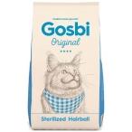 Корм Gosbi Original Sterilized Hairball для стерилизованных кошек, для вывода шерсти из желудка, 1 кг