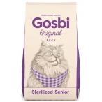 Корм Gosbi Original Sterilized Senior для стерилизованных кошек старше 7 лет, 7 кг