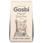 Корм Gosbi Original Grain Free Adult для кошек, беззерновой, 12 кг