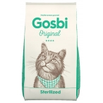 Корм Gosbi Original Sterilized для стерилизованных кошек, 7 кг