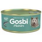 Корм Gosbi Plaisirs White Fish для собак, белая рыба, 185 г