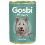 Корм Gosbi Plaisirs White Fish для собак, белая рыба, 370 г