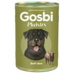 Корм Gosbi Plaisirs Beef Stew для собак, тушеная говядина, 370 г