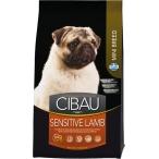 Корм Farmina Cibau Sensitive Lamb Mini для взрослых собак мелких пород с ягненком, 800 г