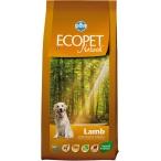 Корм Farmina Ecopet Natural Lamb для взрослых собак с ягненком, 12 кг