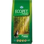 Корм Farmina Ecopet Natural Puppy Maxi для щенков крупных пород с курицей, 12 кг