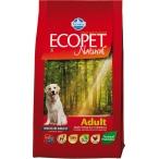 Корм Farmina Ecopet Natural Adult для взрослых собак всех пород с курицей, 2,5 кг