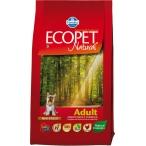 Корм Farmina Ecopet Natural Adult Mini для взрослых собак мелких пород с курицей, 12 кг