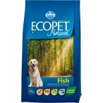 Корм Farmina Ecopet Natural Fish для взрослых собак с рыбой, 12 кг