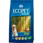 Корм Farmina Ecopet Natural Fish Mini для взрослых собак мелких пород с рыбой, 2,5 кг