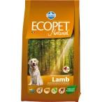 Корм Farmina Ecopet Natural Lamb Mini для взрослых собак мелких пород с ягненком, 12 кг