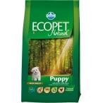 Корм Farmina Ecopet Natural Puppy Mini для щенков мелких пород с курицей, 12 кг