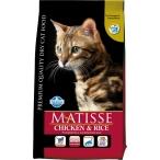 Корм Farmina Matisse Chicken & Rice для взрослых кошек курица с рисом, 400 г