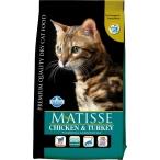 Корм Farmina Matisse Chicken & Turkey для взрослых кошек курица и индейка, 20 кг