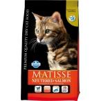 Корм Farmina Matisse Neutered Salmon для взрослых стерилизованных кошек, лосось, 1,5 кг