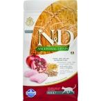 Корм Farmina N&D ANCESTRAL GRAIN Chicken & Pomegranate Adult для кошек с низким содержанием зерна, курица с гранатом, 1,5 кг