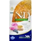Корм Farmina N&D ANCESTRAL GRAIN Lamb & Blueberry Adult для кошек с низким содержанием зерна, ягненок с черникой, 10 кг