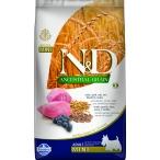Корм Farmina N&D ANCESTRAL GRAIN Lamb & Blueberry Adult Mini для собак мелких пород с низким содержанием зерна, ягненок с черникой, 800 г