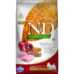 Корм Farmina N&D ANCESTRAL GRAIN Chicken & Pomegranate Senior Mini для пожилых собак малых пород с низким содержанием зерна, курица с гранатом, 2,5 кг