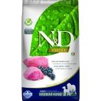 Корм Farmina N&D PRIME Lamb & Blueberry Adult Medium/Maxi беззерновой для взрослых собак средних и крупных пород ягненок с черникой, 12 кг