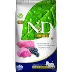 Корм Farmina N&D PRIME Lamb & Blueberry Adult Mini беззерновой для взрослых собак мелких пород ягненок с черникой, 7 кг