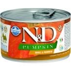 Корм Farmina N&D PUMPKIN Quail & Pumpkin (консерв.) для собак, перепел с тыквой, 140 г