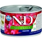 Корм Farmina N&D QUINOA Digestion (консерв.) для собак, помощь пищеварению, 140 г