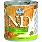Корм Farmina N&D ANCESTRAL GRAIN Boar & Apple (консерв.) для собак кабан с яблоком, 285 г