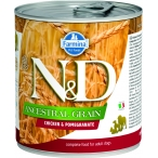 Корм Farmina N&D ANCESTRAL GRAIN Chicken & Pomegranate (консерв.) для собак курица с гранатом, 285 г