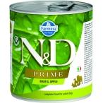 Корм Farmina N&D PRIME Boar & Apple (консерв.) для собак, кабан с яблоком, 285 г