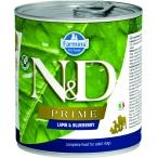 Корм Farmina N&D PRIME Lamb & Blueberry (консерв.) для собак, ягнёнок с черникой, 285 г